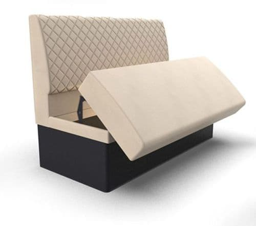 Lifetime Compact - Quilted Storage Seating